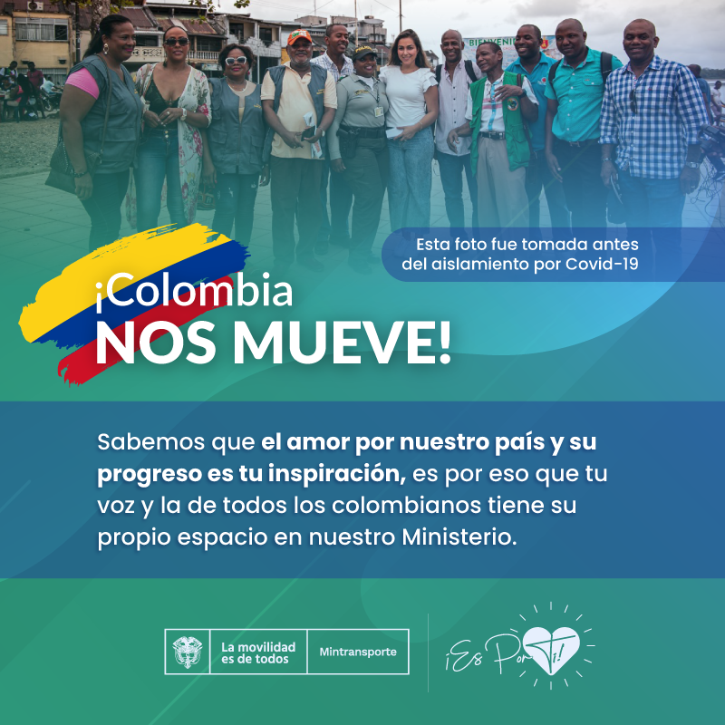 COLOMBIA NOS MUEVE 1